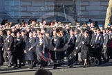 Remembrance Sunday 2012 Cenotaph March Past: Group A11 - Cheshire Regiment Association, A12 - Sherwood Foresters & Worcestershire Regiment, and A13 - Mercian Regiment Association.. Whitehall, Cenotaph, London SW1,  United Kingdom, on 11 November 2012 at 11:49, image #620