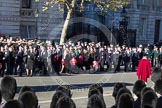 Remembrance Sunday 2012 Cenotaph March Past: Group A12 - Sherwood Foresters & Worcestershire Regiment, A13 - Mercian Regiment Association, and A14 - Rifles Regimental Association.. Whitehall, Cenotaph, London SW1,  United Kingdom, on 11 November 2012 at 11:49, image #626