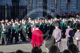 Remembrance Sunday 2012 Cenotaph March Past: Group A13 - Mercian Regiment Association, and A14 - Rifles Regimental Association, A15 - The Rifles & Royal Gloucestershire, Berkshire & Wiltshire Regimental Association.. Whitehall, Cenotaph, London SW1,  United Kingdom, on 11 November 2012 at 11:50, image #646