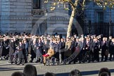 Remembrance Sunday 2012 Cenotaph March Past: Group A25 - Argyll & Sutherland Highlanders Regimental Association and A26 - Grenadier Guards Association.. Whitehall, Cenotaph, London SW1,  United Kingdom, on 11 November 2012 at 11:52, image #739