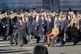 Remembrance Sunday 2012 Cenotaph March Past: Group A25 - Argyll & Sutherland Highlanders Regimental Association and A26 - Grenadier Guards Association.. Whitehall, Cenotaph, London SW1,  United Kingdom, on 11 November 2012 at 11:52, image #740