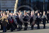 Remembrance Sunday 2012 Cenotaph March Past: Group A25 - Argyll & Sutherland Highlanders Regimental Association and A26 - Grenadier Guards Association.. Whitehall, Cenotaph, London SW1,  United Kingdom, on 11 November 2012 at 11:52, image #743