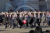 Remembrance Sunday 2012 Cenotaph March Past: Group  A28 - Scots Guards Association.. Whitehall, Cenotaph, London SW1,  United Kingdom, on 11 November 2012 at 11:52, image #752