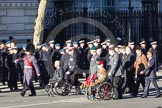 Remembrance Sunday 2012 Cenotaph March Past: Group C1, Blind Veterans UK.. Whitehall, Cenotaph, London SW1,  United Kingdom, on 11 November 2012 at 11:53, image #771