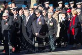 Remembrance Sunday 2012 Cenotaph March Past: Group C1, Blind Veterans UK.. Whitehall, Cenotaph, London SW1,  United Kingdom, on 11 November 2012 at 11:53, image #779