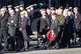 Remembrance Sunday 2012 Cenotaph March Past: Group C1, Blind Veterans UK.. Whitehall, Cenotaph, London SW1,  United Kingdom, on 11 November 2012 at 11:54, image #781