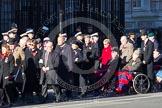 Remembrance Sunday 2012 Cenotaph March Past: Group C1, Blind Veterans UK.. Whitehall, Cenotaph, London SW1,  United Kingdom, on 11 November 2012 at 11:54, image #789