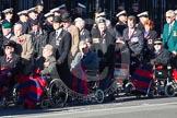 Remembrance Sunday 2012 Cenotaph March Past: Group C1, Blind Veterans UK.. Whitehall, Cenotaph, London SW1,  United Kingdom, on 11 November 2012 at 11:54, image #792