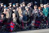 Remembrance Sunday 2012 Cenotaph March Past: Group C1, Blind Veterans UK.. Whitehall, Cenotaph, London SW1,  United Kingdom, on 11 November 2012 at 11:54, image #793
