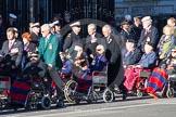 Remembrance Sunday 2012 Cenotaph March Past: Group C1, Blind Veterans UK.. Whitehall, Cenotaph, London SW1,  United Kingdom, on 11 November 2012 at 11:54, image #794