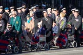Remembrance Sunday 2012 Cenotaph March Past: Group C1, Blind Veterans UK.. Whitehall, Cenotaph, London SW1,  United Kingdom, on 11 November 2012 at 11:54, image #797