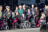 Remembrance Sunday 2012 Cenotaph March Past: Group C1, Blind Veterans UK.. Whitehall, Cenotaph, London SW1,  United Kingdom, on 11 November 2012 at 11:54, image #798