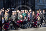 Remembrance Sunday 2012 Cenotaph March Past: Group C1, Blind Veterans UK.. Whitehall, Cenotaph, London SW1,  United Kingdom, on 11 November 2012 at 11:54, image #799