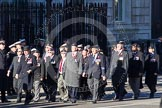 Remembrance Sunday 2012 Cenotaph March Past: Group B1, Royal Army Medical Corps Association.. Whitehall, Cenotaph, London SW1,  United Kingdom, on 11 November 2012 at 11:54, image #804