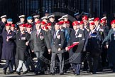 Remembrance Sunday 2012 Cenotaph March Past: Group B3, Royal Military Police Association.. Whitehall, Cenotaph, London SW1,  United Kingdom, on 11 November 2012 at 11:55, image #824
