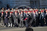 Remembrance Sunday 2012 Cenotaph March Past: Group B3, Royal Military Police Association.. Whitehall, Cenotaph, London SW1,  United Kingdom, on 11 November 2012 at 11:55, image #831