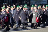 Remembrance Sunday 2012 Cenotaph March Past: Group B7 - Intelligence Corps Association and B8 - Royal Army Physical Training Corps.. Whitehall, Cenotaph, London SW1,  United Kingdom, on 11 November 2012 at 11:55, image #848