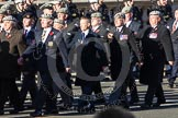 Remembrance Sunday 2012 Cenotaph March Past: Group  B10 - Royal Scots Dragoon Guards and B11 - Royal Dragoon Guards .. Whitehall, Cenotaph, London SW1,  United Kingdom, on 11 November 2012 at 11:56, image #863