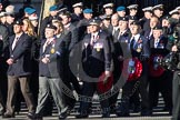 Remembrance Sunday 2012 Cenotaph March Past: Group  B11 - Royal Dragoon Guards .. Whitehall, Cenotaph, London SW1,  United Kingdom, on 11 November 2012 at 11:56, image #867