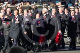 Remembrance Sunday 2012 Cenotaph March Past: Group B18 - Association of Ammunition Technicians.. Whitehall, Cenotaph, London SW1,  United Kingdom, on 11 November 2012 at 11:57, image #923