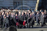 Remembrance Sunday 2012 Cenotaph March Past: Group B18 - Association of Ammunition Technicians.. Whitehall, Cenotaph, London SW1,  United Kingdom, on 11 November 2012 at 11:57, image #924