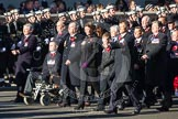 Remembrance Sunday 2012 Cenotaph March Past: Group B18 - Association of Ammunition Technicians.. Whitehall, Cenotaph, London SW1,  United Kingdom, on 11 November 2012 at 11:57, image #926