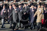 Remembrance Sunday 2012 Cenotaph March Past: Group B19 - Beachley Old Boys Association.. Whitehall, Cenotaph, London SW1,  United Kingdom, on 11 November 2012 at 11:57, image #929