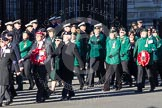 Remembrance Sunday 2012 Cenotaph March Past: Group B21 - Women's Royal Army Corps Association.. Whitehall, Cenotaph, London SW1,  United Kingdom, on 11 November 2012 at 11:57, image #939