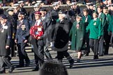Remembrance Sunday 2012 Cenotaph March Past: Group B20 - Arborfield Old Boys Association, and B21 - Women's Royal Army Corps Association.. Whitehall, Cenotaph, London SW1,  United Kingdom, on 11 November 2012 at 11:57, image #945