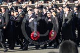 Remembrance Sunday 2012 Cenotaph March Past: Group B24 - 3rd Regiment Royal Horse Artillery Association.. Whitehall, Cenotaph, London SW1,  United Kingdom, on 11 November 2012 at 11:58, image #964