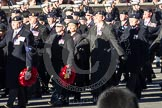 Remembrance Sunday 2012 Cenotaph March Past: Group B24 - 3rd Regiment Royal Horse Artillery Association.. Whitehall, Cenotaph, London SW1,  United Kingdom, on 11 November 2012 at 11:58, image #966