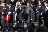 Remembrance Sunday 2012 Cenotaph March Past: Group B31 - Royal Army Service Corps & Royal Corps of Transport Association.. Whitehall, Cenotaph, London SW1,  United Kingdom, on 11 November 2012 at 11:59, image #1018