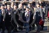 Remembrance Sunday 2012 Cenotaph March Past: Group B33 - Army Catering Corps Association.. Whitehall, Cenotaph, London SW1,  United Kingdom, on 11 November 2012 at 12:00, image #1028