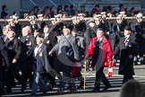 Remembrance Sunday 2012 Cenotaph March Past: Group B33 - Army Catering Corps Association.. Whitehall, Cenotaph, London SW1,  United Kingdom, on 11 November 2012 at 12:00, image #1029