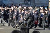 Remembrance Sunday 2012 Cenotaph March Past: Group B34 - Royal Pioneer Corps Association.. Whitehall, Cenotaph, London SW1,  United Kingdom, on 11 November 2012 at 12:00, image #1032