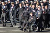 Remembrance Sunday 2012 Cenotaph March Past: Group B34 - Royal Pioneer Corps Association.. Whitehall, Cenotaph, London SW1,  United Kingdom, on 11 November 2012 at 12:00, image #1034