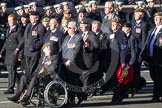Remembrance Sunday 2012 Cenotaph March Past: Group B34 - Royal Pioneer Corps Association.. Whitehall, Cenotaph, London SW1,  United Kingdom, on 11 November 2012 at 12:00, image #1035