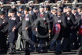 Remembrance Sunday 2012 Cenotaph March Past: Group C2 - Royal Air Force Regiment Association.. Whitehall, Cenotaph, London SW1,  United Kingdom, on 11 November 2012 at 12:00, image #1044
