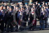 Remembrance Sunday 2012 Cenotaph March Past: Group C2 - Royal Air Force Regiment Association.. Whitehall, Cenotaph, London SW1,  United Kingdom, on 11 November 2012 at 12:00, image #1050