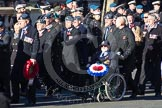 Remembrance Sunday 2012 Cenotaph March Past: Group C3 - Royal Air Forces Association.. Whitehall, Cenotaph, London SW1,  United Kingdom, on 11 November 2012 at 12:01, image #1078