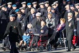 Remembrance Sunday 2012 Cenotaph March Past: Group C6 - Women's Auxiliary Air Force.. Whitehall, Cenotaph, London SW1,  United Kingdom, on 11 November 2012 at 12:01, image #1097