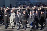 Remembrance Sunday 2012 Cenotaph March Past: Group C5 - Royal Air Force Airfield Construction Branch Association, and C6 - Women's Auxiliary Air Force.. Whitehall, Cenotaph, London SW1,  United Kingdom, on 11 November 2012 at 12:01, image #1098