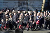 Remembrance Sunday 2012 Cenotaph March Past: Group C6 - Women's Auxiliary Air Force and C7 - Blenheim Society .. Whitehall, Cenotaph, London SW1,  United Kingdom, on 11 November 2012 at 12:01, image #1100