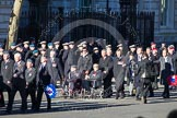 Remembrance Sunday 2012 Cenotaph March Past: Group C8 - Coastal Command & Maritime Air Association and C9 - Royal Air Forces Ex-Prisoner's of War Association.. Whitehall, Cenotaph, London SW1,  United Kingdom, on 11 November 2012 at 12:01, image #1105