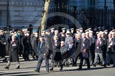 Remembrance Sunday 2012 Cenotaph March Past: Group C12 - Royal Air Force Police Association,. Whitehall, Cenotaph, London SW1,  United Kingdom, on 11 November 2012 at 12:02, image #1113