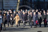 Remembrance Sunday 2012 Cenotaph March Past: Group C13 - Princess Mary's Royal Air Force Nursing Service Association and C14 - Bomber Command Association.. Whitehall, Cenotaph, London SW1,  United Kingdom, on 11 November 2012 at 12:02, image #1122