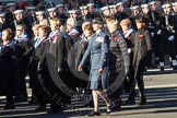 Remembrance Sunday 2012 Cenotaph March Past: Group C13 - Princess Mary's Royal Air Force Nursing Service Association.. Whitehall, Cenotaph, London SW1,  United Kingdom, on 11 November 2012 at 12:02, image #1128