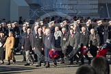 Remembrance Sunday 2012 Cenotaph March Past: Group C14 - Bomber Command Association.. Whitehall, Cenotaph, London SW1,  United Kingdom, on 11 November 2012 at 12:02, image #1131