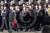 Remembrance Sunday 2012 Cenotaph March Past: Group C15 - Royal Observer Corps Association.. Whitehall, Cenotaph, London SW1,  United Kingdom, on 11 November 2012 at 12:03, image #1140