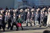Remembrance Sunday 2012 Cenotaph March Past: Group C19 - 7 Squadron Association and C20 - RAF Habbaniya Association.. Whitehall, Cenotaph, London SW1,  United Kingdom, on 11 November 2012 at 12:03, image #1176